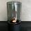 Thumbnail: Windlicht mini smoked glas/zwart