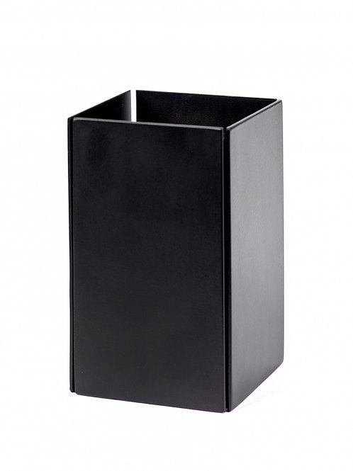 Theelicht zwart staal L