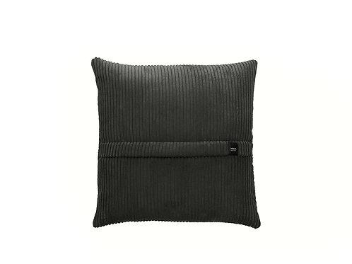 Big pillow rib/dark grey