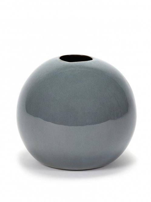 Bolvaasje XL grijsblauw