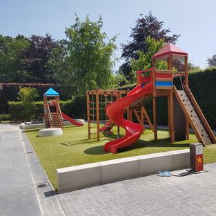 Schoolplein in België