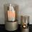 Thumbnail: Windlicht mini topaz glas/goud