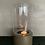 Thumbnail: Windlicht mini helder glas goud
