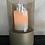 Thumbnail: Windlicht topaz glas/goud