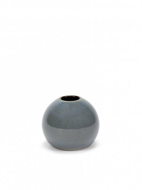 Bolvaasje XS grijsblauw