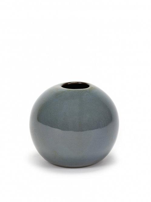Bolvaasje M grijsblauw