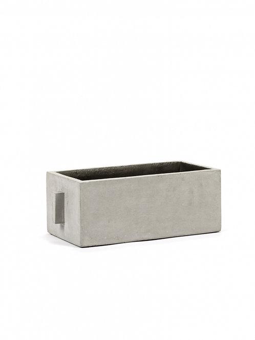 Pot beton rechthoek