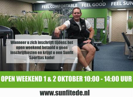 Open weekend bij Sportcentrum Sunfit