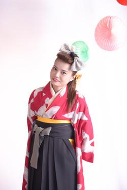 北九州 着物レンタル 着付け mugi 可愛い オシャレ 振袖 和風館