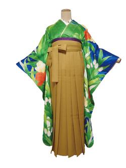 北九州 着物レンタル 着付け mugi 可愛い オシャレ 振袖 袴