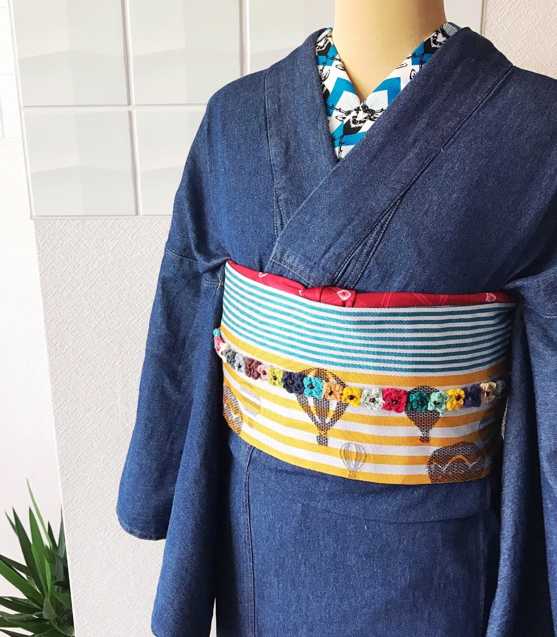 北九州 着物レンタル 着付け mugi 可愛い オシャレ ふだん着物