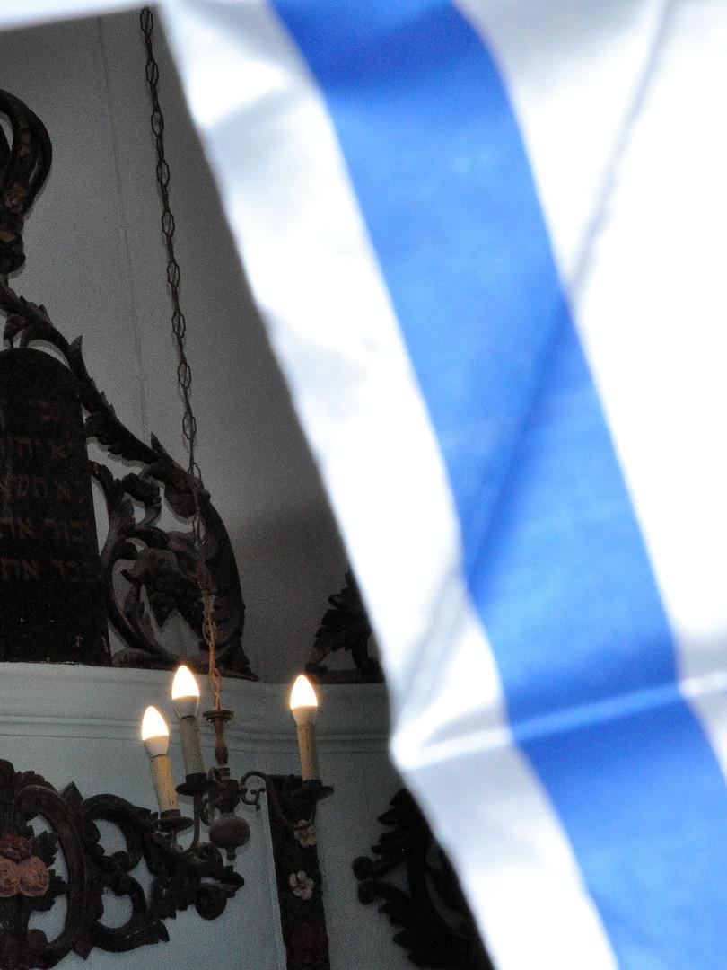 Le religieux et le laïc fusionnent harmonieusement dans la culture plus que centenaire deMikvé-Israël.