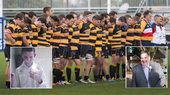 Pirates Jack Cutcliffe and Col Easter honoured by club with fundraiser
