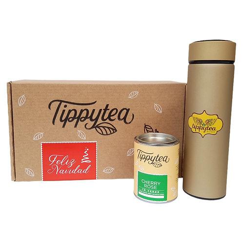 Combinación #38 - termo colores + lata de 50 gr de té