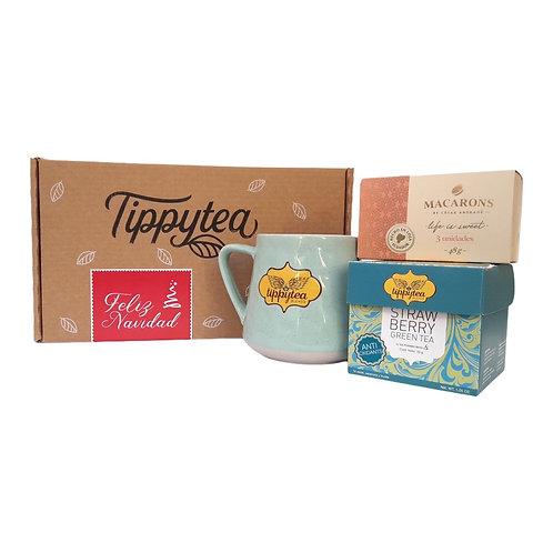 Combinación #22 - Caja x10 Tea Pyramid bag + Jarro +Mielero