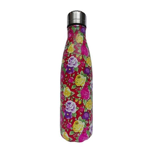 Steel Water Bottle 500ml Rojo