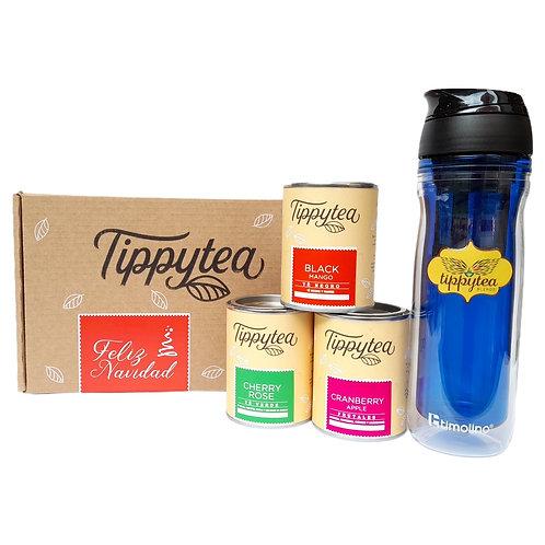 Combinación #41 -  3 Lata de 50 gr de té + Termo Timolino