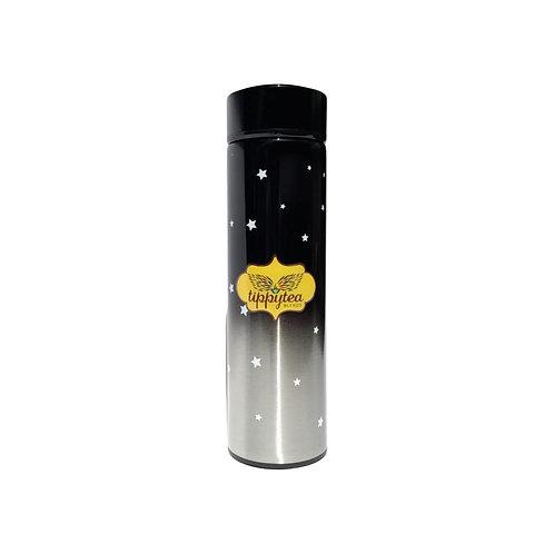Termo Colores Negro Estrellas