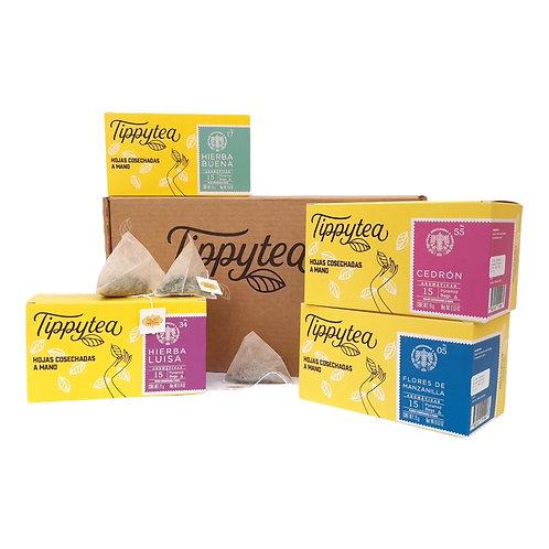 Combinación #1 - 4 Aromáticas Tippytea