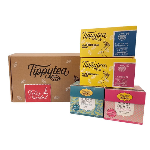 Combinación #11 - 2 Cajas x10 Tea Pyramid bag + 2 Aromáticas Tippytea