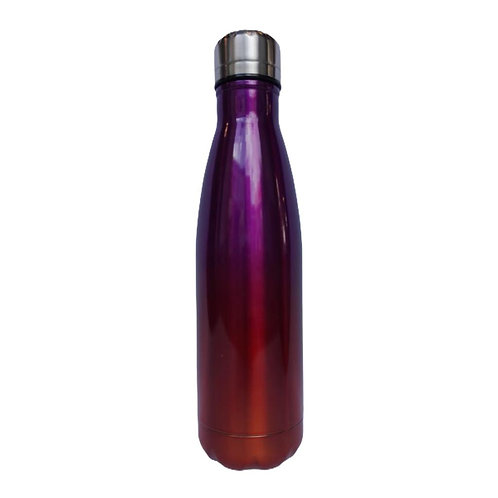 Steel Water Bottle 500ml Multicolor