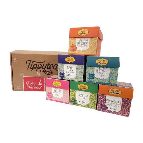 Combinación #10 - 6 Cajas x10 Tea Pyramid bag