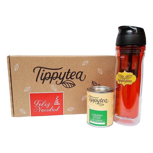 Combinación #39 -  Lata de 50 gr de té + Termo timolino