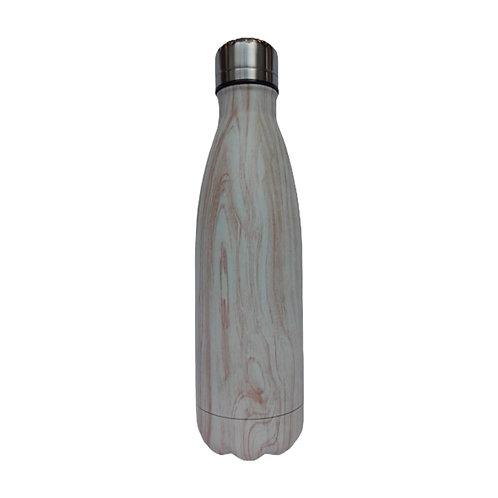 Steel Water Bottle 500ml Marmol Café