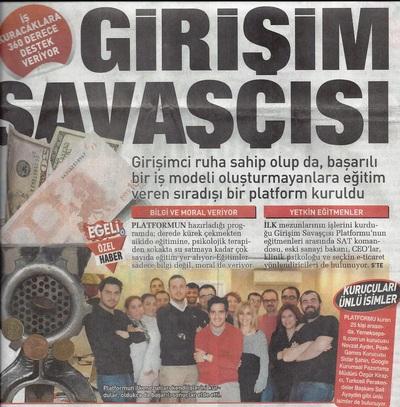 SABAH GAZETESİ EGE EKİ