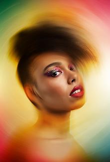 Fashion beauty editorial photography