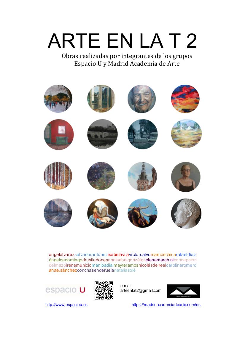 Exposición colectiva ARTE EN LA T2