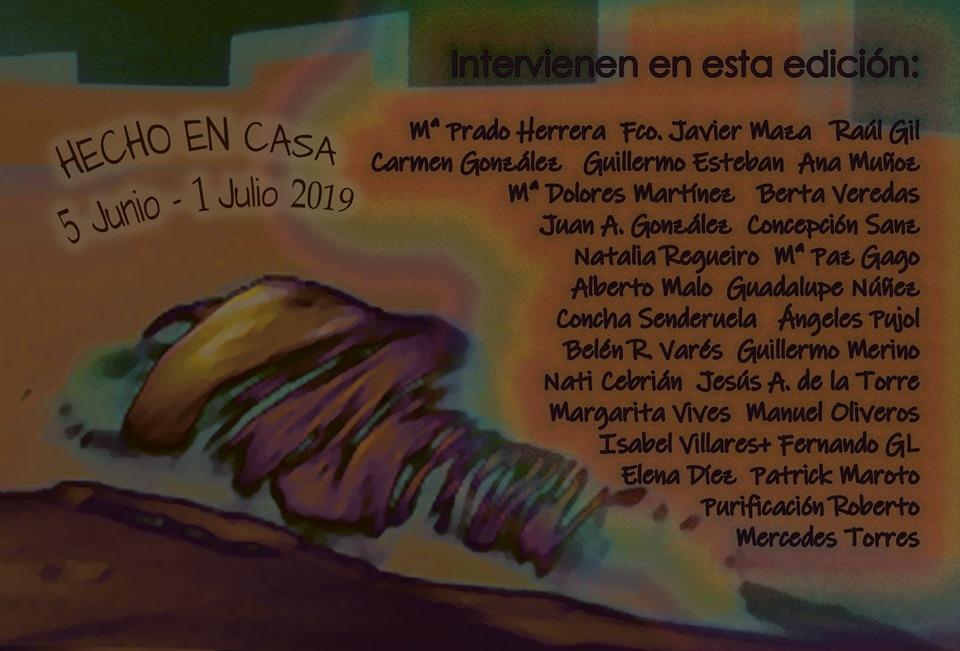 Cartel artistas participantes