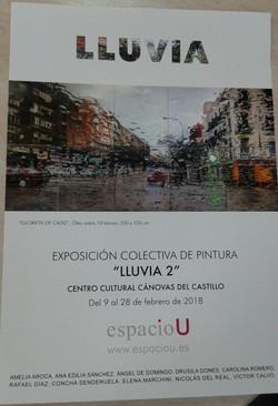 Exposición colectiva LLUVIA 2
