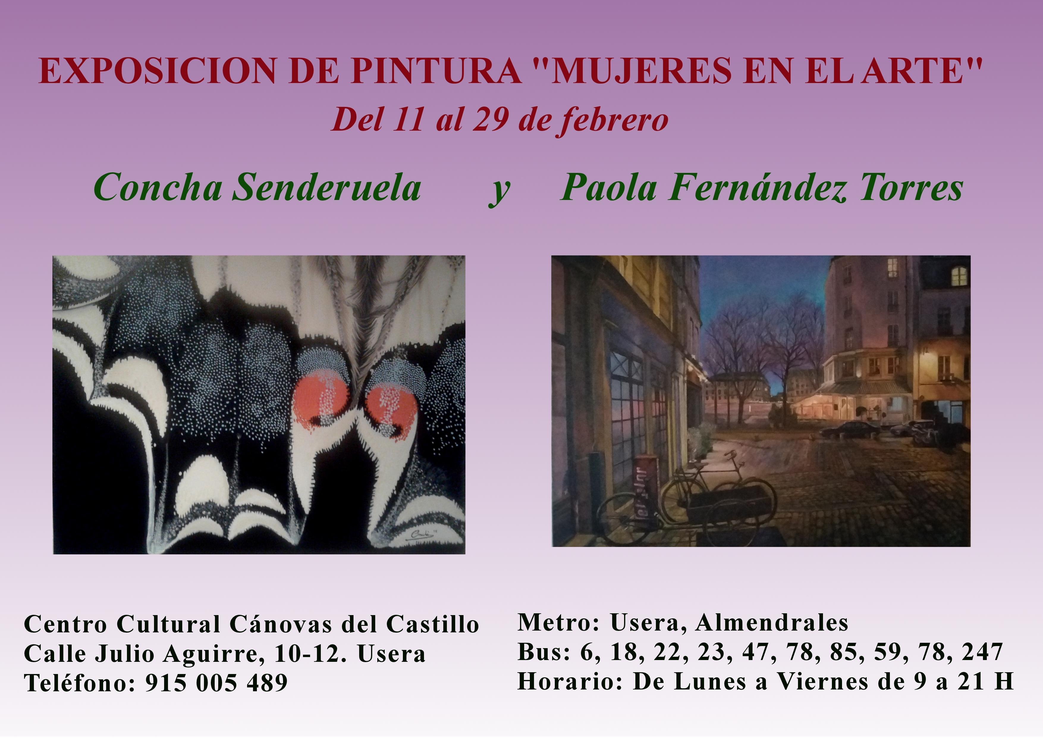 Exposición MUJERES EN EL ARTE