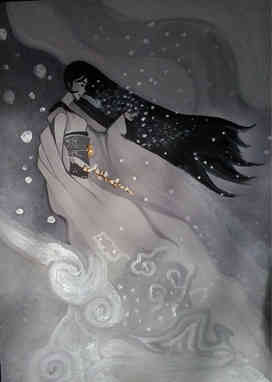 YUKI-ONNA (雪女, la mujer de la nieve)
