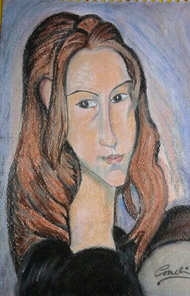 JEANNE HÉBUTERNE (Amedeo Modigliani)