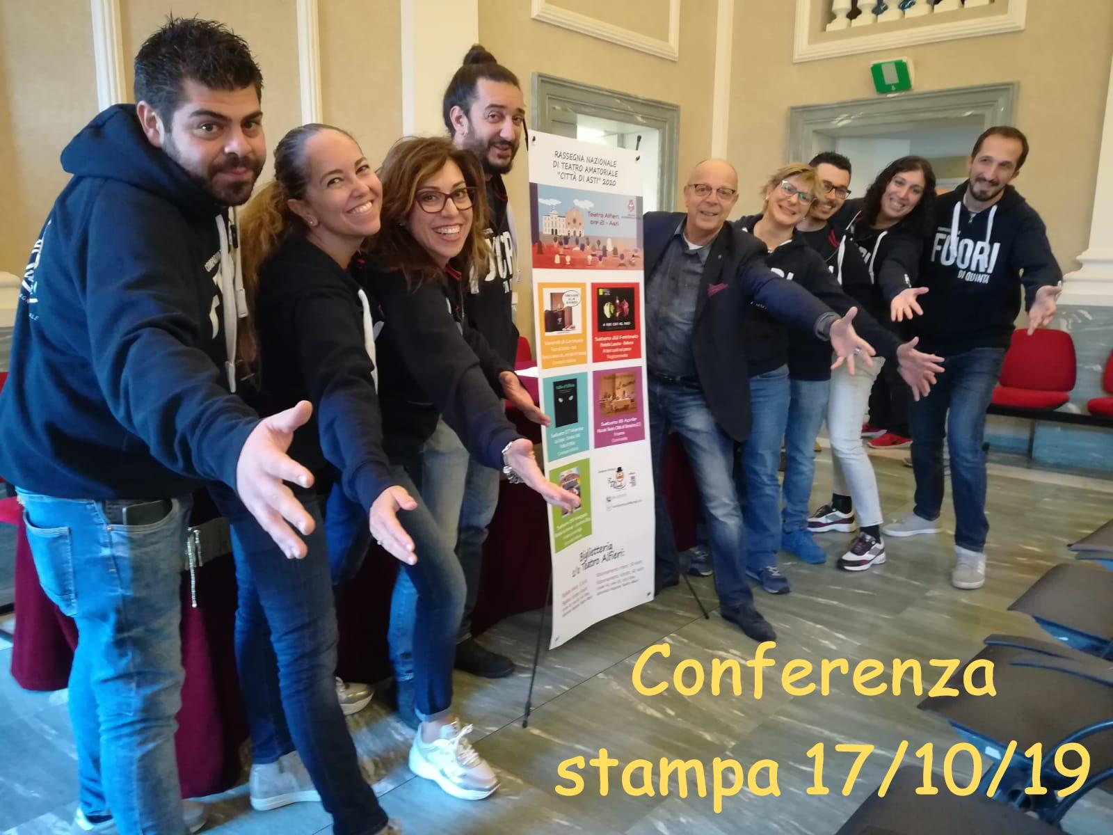 conferenza stampa rassegna Città di Asti