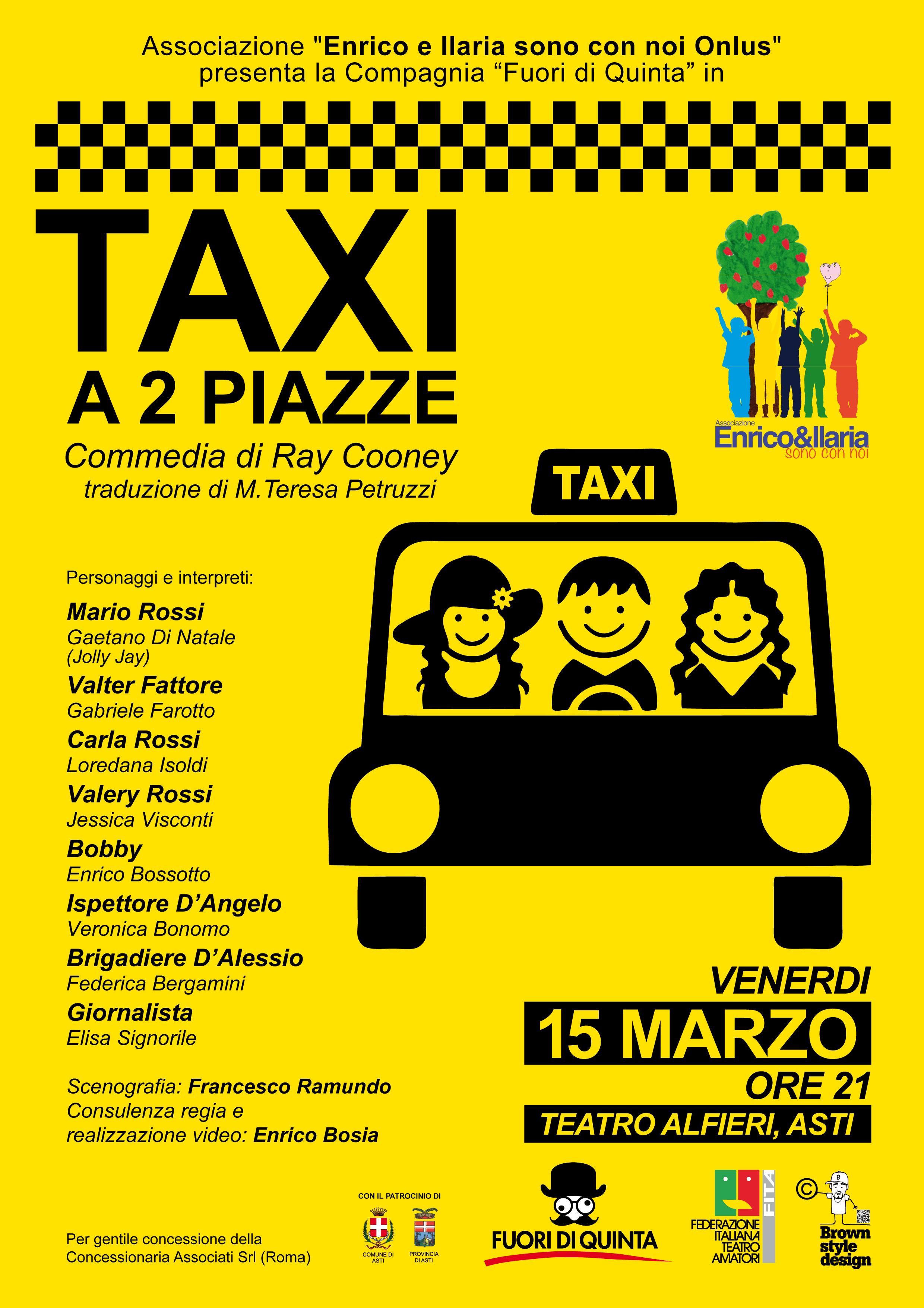 Fuori di Quinta-Taxi a 2 piazze