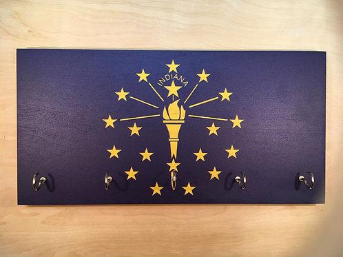 Indiana Flag Key Holder