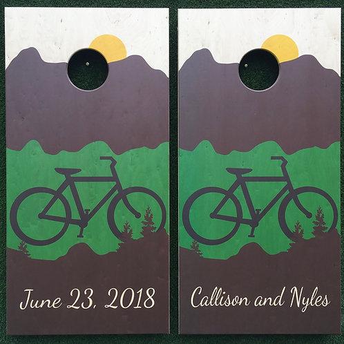 Cornhole Game-Mountain Biking