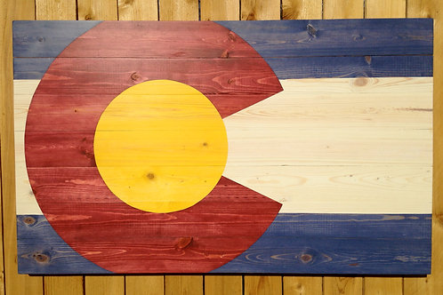 Colorado Flag OverScaled