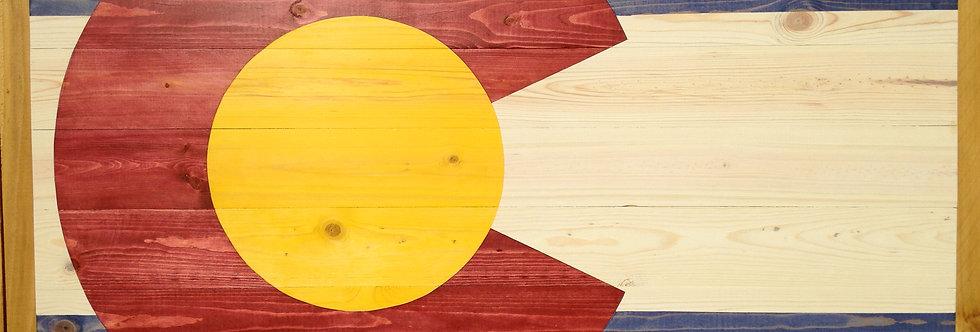 Colorado Flag OverScaled