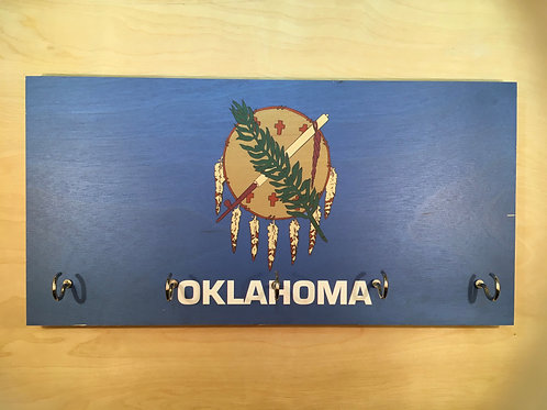 Oklahoma Flag Key Holder