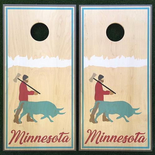 Cornhole Game-Minnesota Paul Bunyan