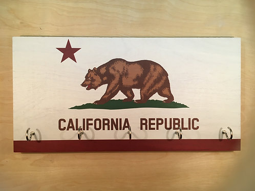 California Flag Key Holder