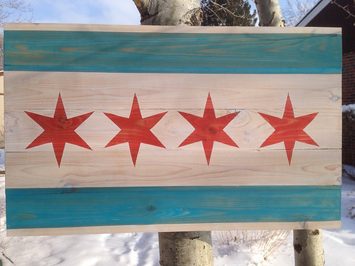 Chicago Wall Hanging