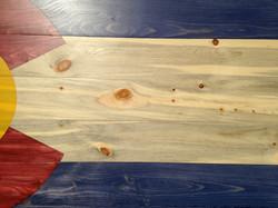 Blue Pine Colorado Flag
