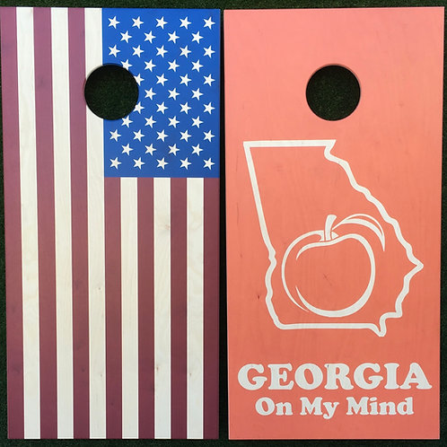 Cornhole Game-Georgia and USA