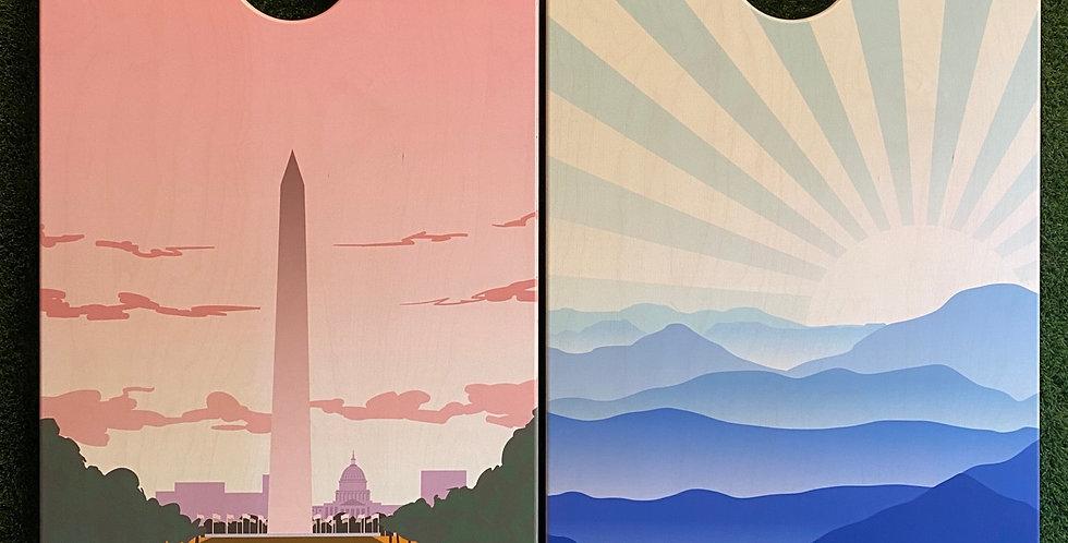 Cornhole Game-Washington DC and Virginia