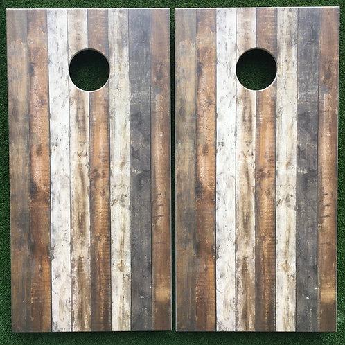 Cornhole Game-Reclaimed Wood